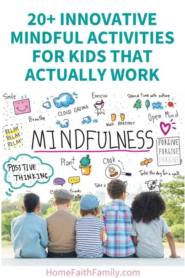 Here is the ultimate guide of 20+ mindfulness activities for children that take 5 minutes to keep your kids engaged in something productive.