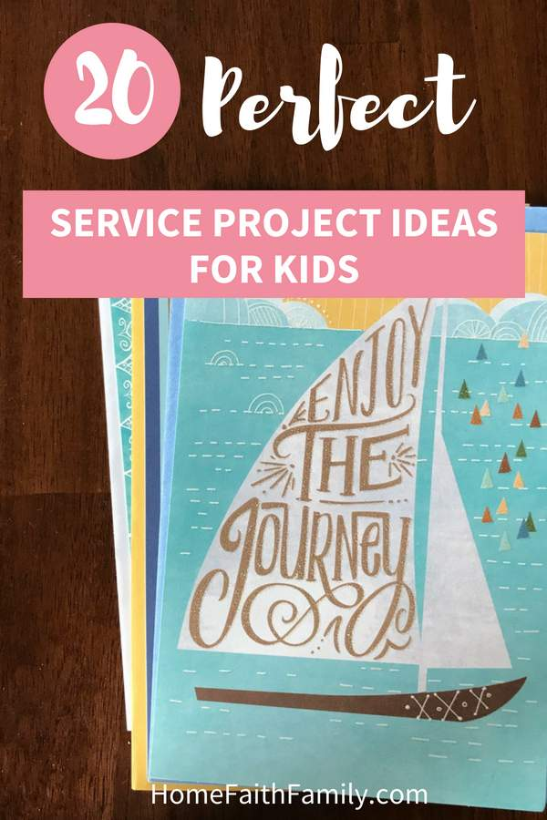 20 Perfect Service Projects For Kids Home Faith Family