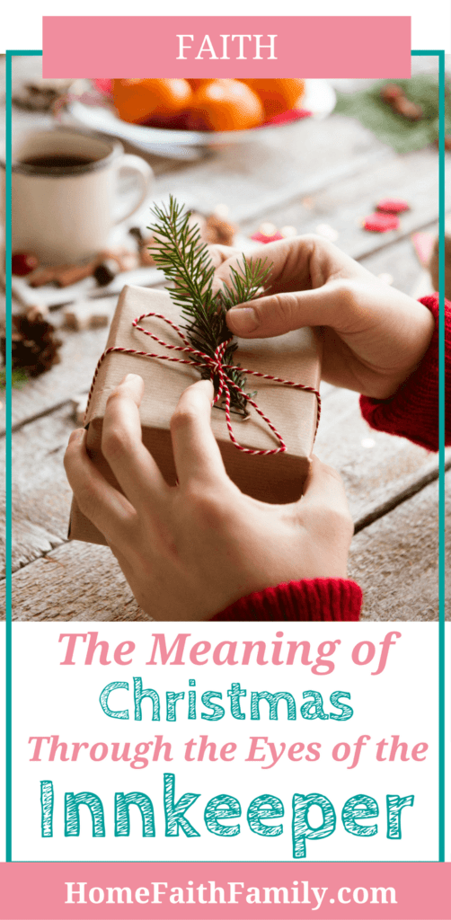 The meaning of Christmas is always the hallmark of this holiday season. The role of the innkeeper could have been more vital to the Holy Family. Click to read the innkeeper's important contribution. #Christmas #JesusChrist