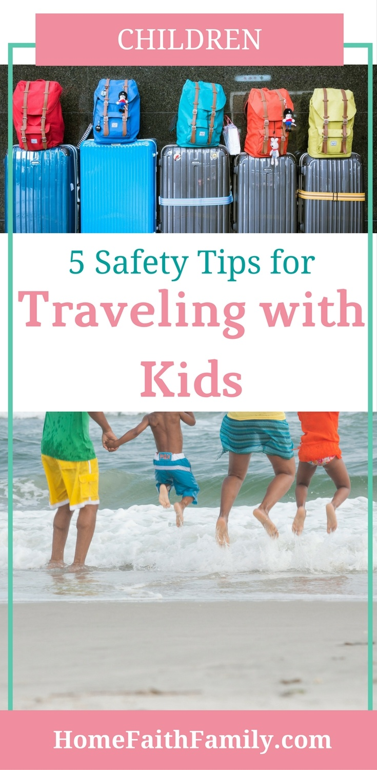 Are you traveling with kids soon? These safety tips for traveling with kids will help take the stress out of your vacation. Whether you're traveling with kids in the car or via airplane, you'll definitely want to read tip #5 because this travel tip will save you money. Click to read.