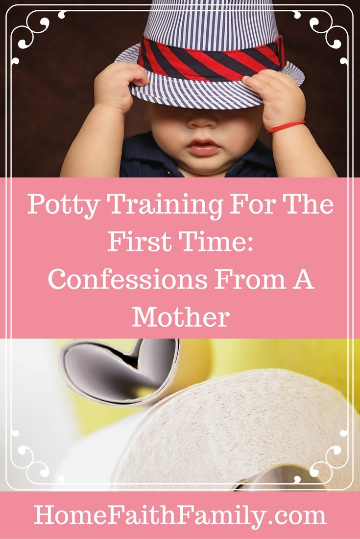 Potty training for the first time is about as much fun as doing taxes or getting your wisdom teeth pulled. It's hard work. How do you survive? Here are two confessions from a mother who has been there before. Click to read.