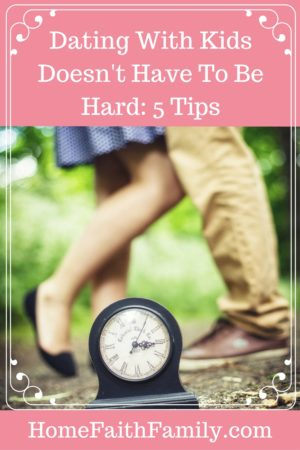 Dating with Kids Doesnt Have to Be Hard | Dating with kids doesn't have to be hard. In fact, this exciting challenge can help strengthen your marriage! These 5 tips will help you and your spouse come closer together as you strengthen your romance and love. Click to read, you're going to love tip number 3. Click to read.