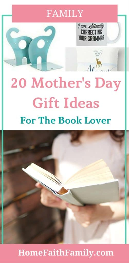 Do you know a special woman who loves reading? This list of 20 Mothers Day gift ideas for book lovers is going to be your shopping guide and secret weapon. From pillow covers, mugs, and more, you can't go wrong saving money with this list. Click to read and find your favorite gift.