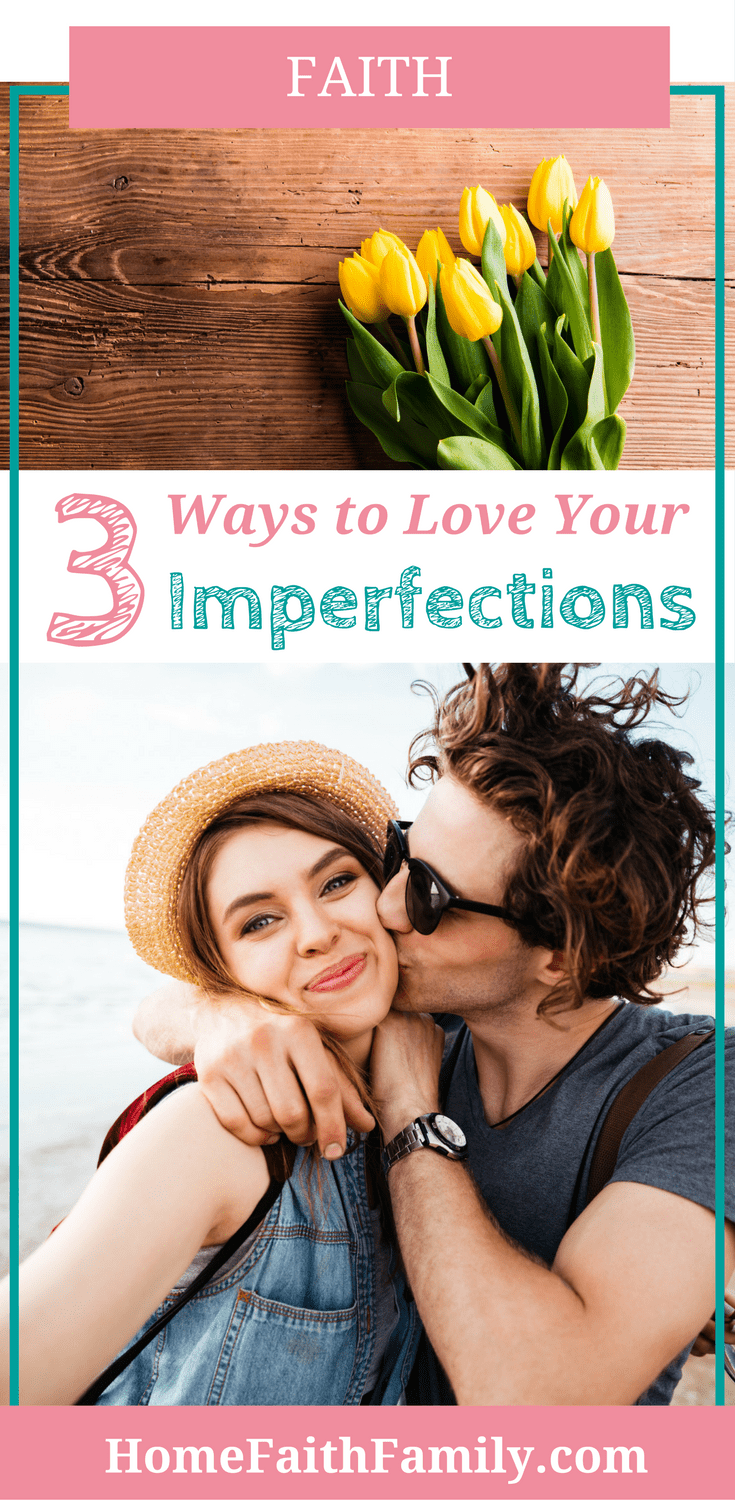 Some days it's hard to love ourselves and our imperfections. There is so much good we want to do, but when we don't meet our personal standards, we begin to feel like failures. Today we discuss why you're someone worthwhile and 3 ways you can love your imperfections. This is one article you won't want to miss. Click to read
