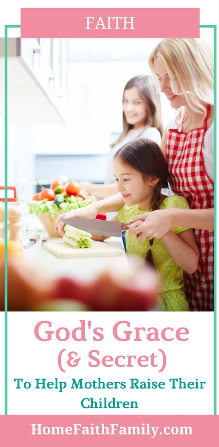 God's grace for mothers to raise children on His path is real and He wants to help you. As a mother, you have no reason to be afraid, but can believe in God and trust Him enough to help you raise your children. Click to read God's secret on how mothers can righteously raise their children.