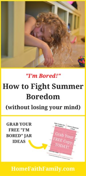 I M Bored How To Fight Summer Boredom Without Losing Your Mind