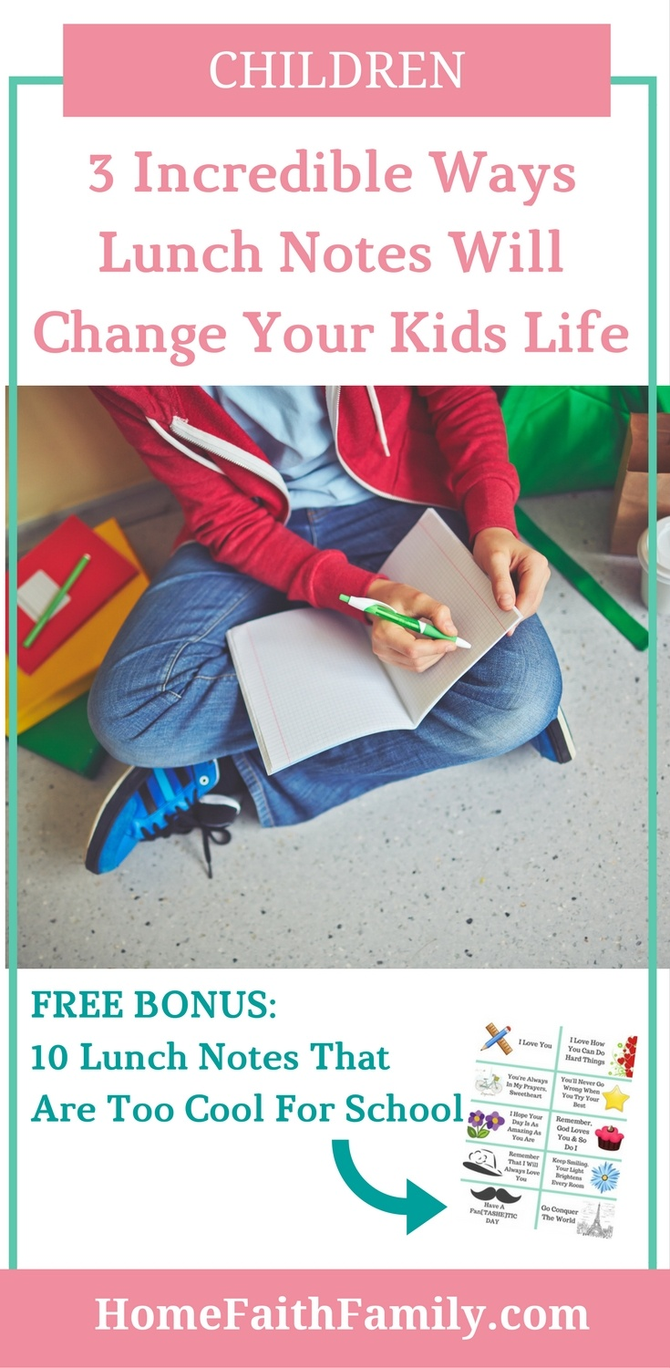These lunch notes for kids are a perfect way to express your love throughout the school year. Learn why kids need to feel their parents love and how you can easily boost their confidence in 3 critical ways with a quick lunch note. Download your free copy on our website. Click to learn more.