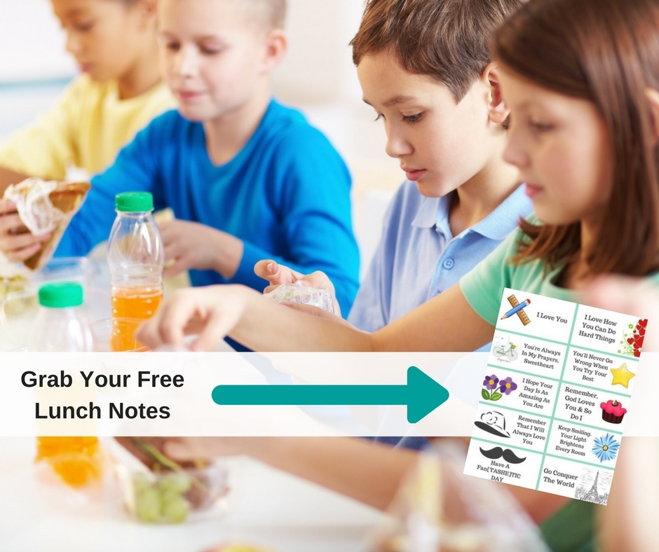10 Lunch Notes For Kids That Are Too Cool For School