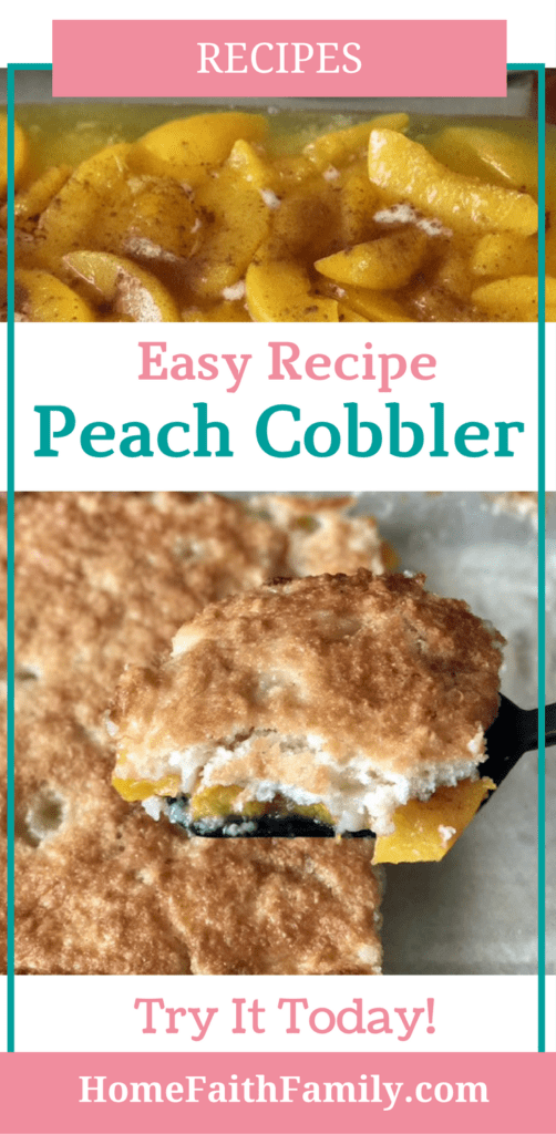 This easy peach cobbler recipe will be the star on your dinner table. With fresh ingredients, easy to follow instructions, and a taste bursting with flavor, this peach cobbler recipe definitely one to keep. Click to read and start baking.