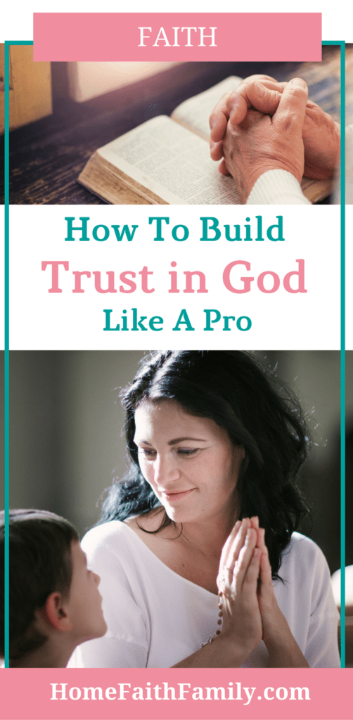 Having trust in God can be difficult. You want to know His plan for you and the answers to your life's problems. So, you first need to learn how to build your trust in God (like a pro) and today, I want to teach you how in 3 simple steps. Click to read.