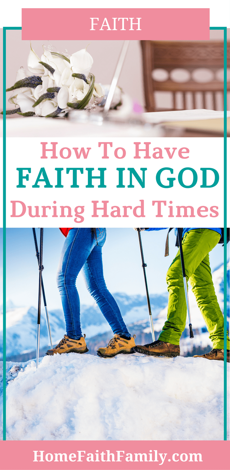 Do you feel like your faith is weak? Are you looking for a way to strengthen your faith in God during hard times? Today we go over 3 easy ways you can strengthen your relationship with God, grow your faith, and conquer your most difficult trials. Click to read.