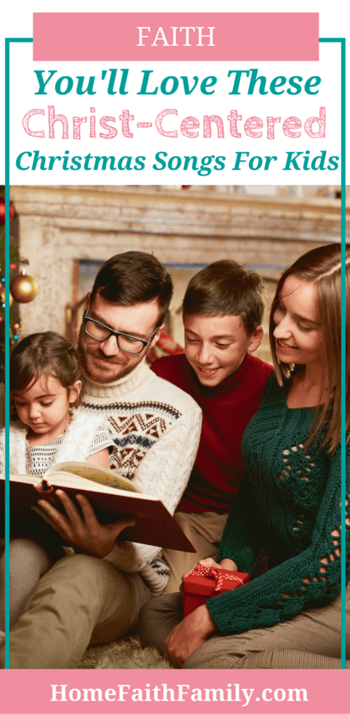 Finding Christmas songs for kids focusing on Christ doesn't have to be hard. In fact, this list proves it. Click to read and find your family's new favorite Christmas song. #Christmas #Christmasmusic