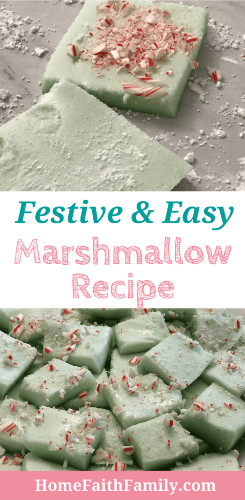 This easy marshmallow recipe is perfect for your next green theme holiday. Whether you're planning a dessert for St. Patrick's Day or Christmas, this recipe will help you look like a cooking all-star! Click to grab this easy recipe. #recipe #cooking #stpatricks #christmas