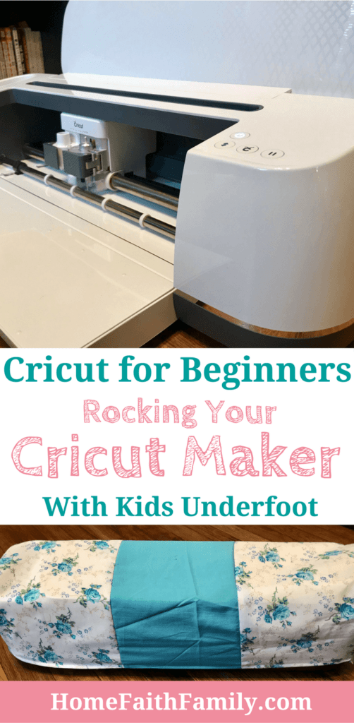 Your Cricut machine is amazing. These tips for Cricut beginners for rocking your Cricut Maker with Kids underfoot will help you save time (and your sanity). You want to love your new craft machine while still loving motherhood. And now you can! Click to read. #Cricut #CricutMaker #DIY