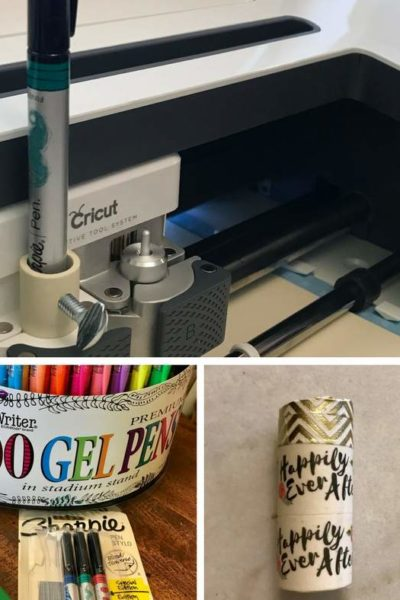 Cricut pens are expensive but today, I'm going to show you how you can use any pen on the Cricut Maker for any project. This free tutorial is perfect for your next beautiful idea. Click to learn how and which pens work best on your Cricut machine. #Cricut #cricutmaker #diy
