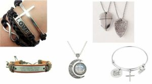 christian jewelry for kids and teens with scriptures