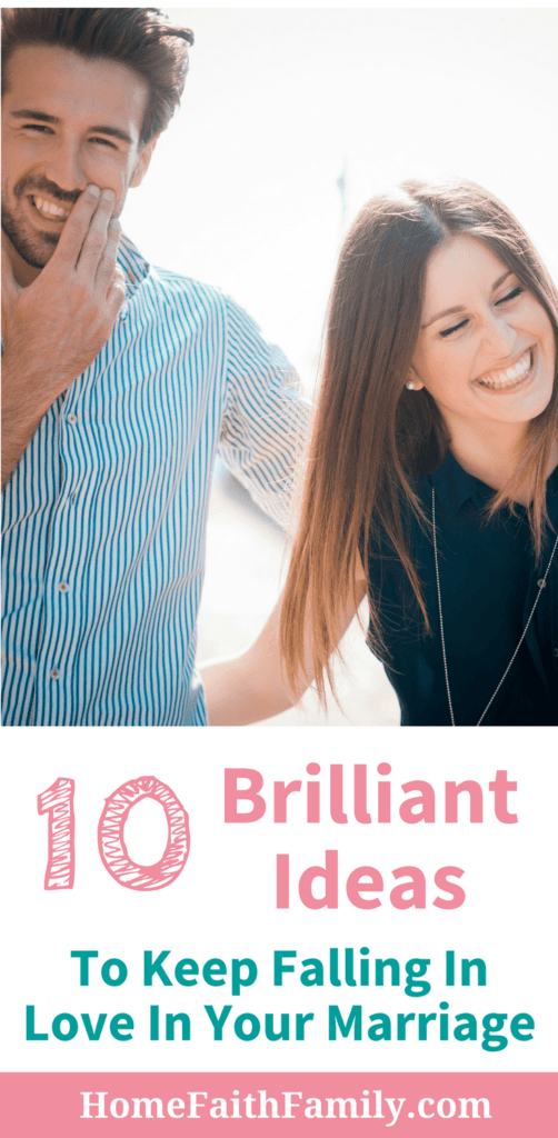 Do you want some marriage advice? These brilliant ideas to keep falling in love in your marriage are ones you can't afford to miss. If you're looking to strengthen your marriage, increase your communication, and keep falling in love, then continue reading and discover these brilliant ideas. #marriage #marriageadvice #christianmarriage #marriagestruggles #marriagecommunication #fallinlove