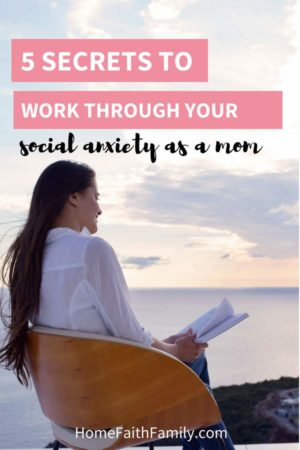 I've always been an introvert, even before having children. It was until I realized that my social anxiety as a mom was only getting worse that I learned these coping mechanisms to help me succeed in social situations. If you're feeling stressed or struggling with your social interactions, you're going to love these tips for helping with your social anxiety. | feeling stressed | controlling emotions | mental struggle | social life | social interactions