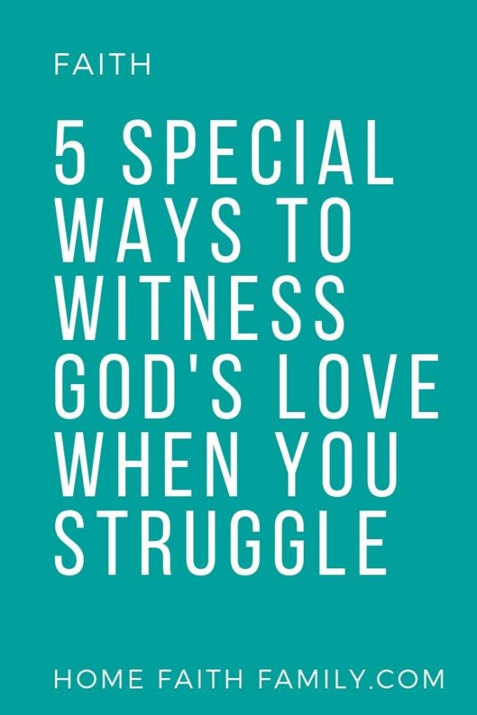 My family's world came crashing down. Here are 5 ways we found God during our trials and tribulations. #faith #JesusChrist #Christian #hope #love