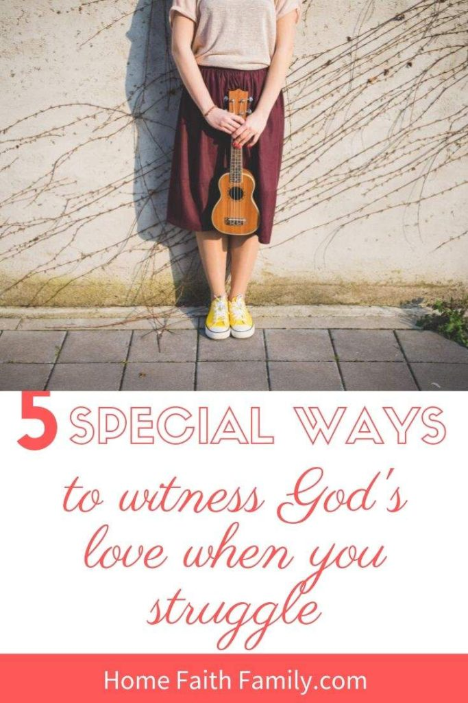 Going through trials is a struggle. But, what if I told you that God is closeby and His love is surrounding you? Here are 5 ways you can witness God's love in your tribulations. #trialsandtribulations #faith #JesusChrist #Christian