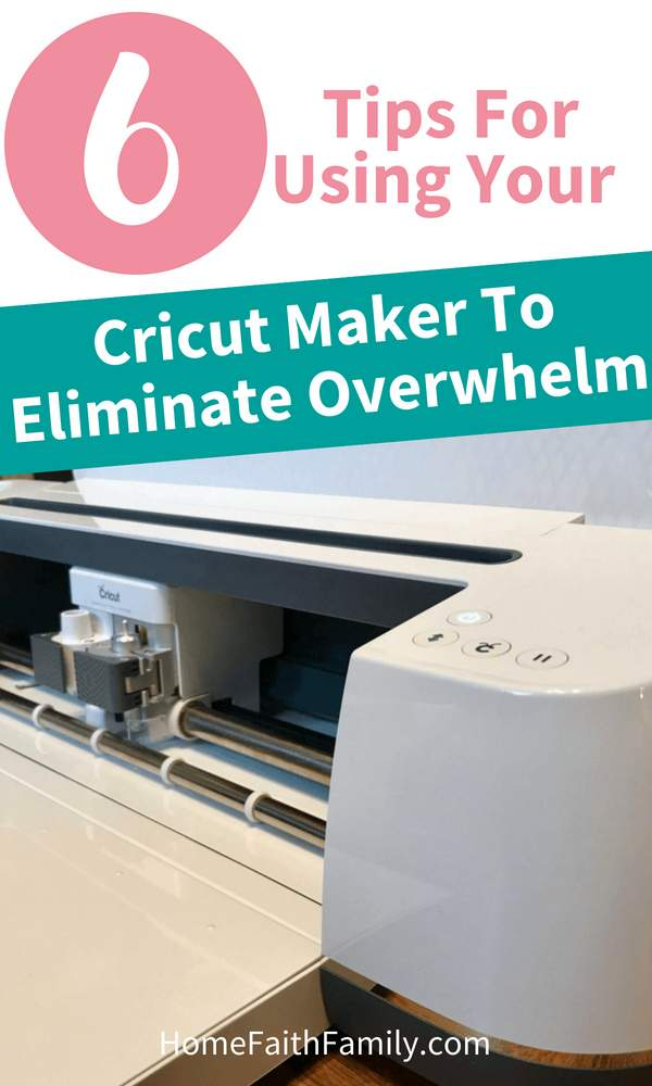 These tips for using your Cricut Maker will help eliminate overwhelm for first time Cricut users, and set you up for success before completing your first project. By following these tips, you're going to fall in love with your new Cricut Maker and be a rock star at DIYing projects. Click to read. #Cricut #CricutMaker #DIY