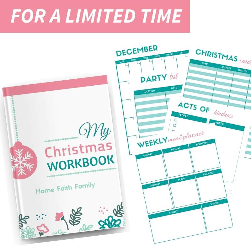 image about Home and Family Christmas Workbook referred to as Household Religion Loved ones
