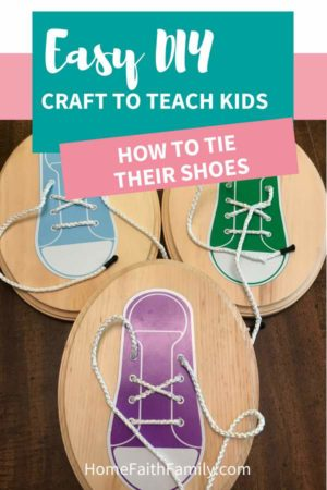 Are you teaching your children how to tie shoes with little success? Then you're going to love this simple DIY craft that will make learning and teaching how to tie shoes for kids fun and easy! Keep reading to make this craft and grab the free svg file. #shoes #howto #diy #cricutmade #cricut | free svg, cricut tutorial, cricut shoes, converses shoes, shoes tie styles, how to tie shoes