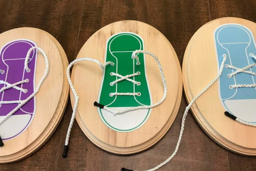 Easily Learn How To Tie Shoes With This Simple DIY Craft