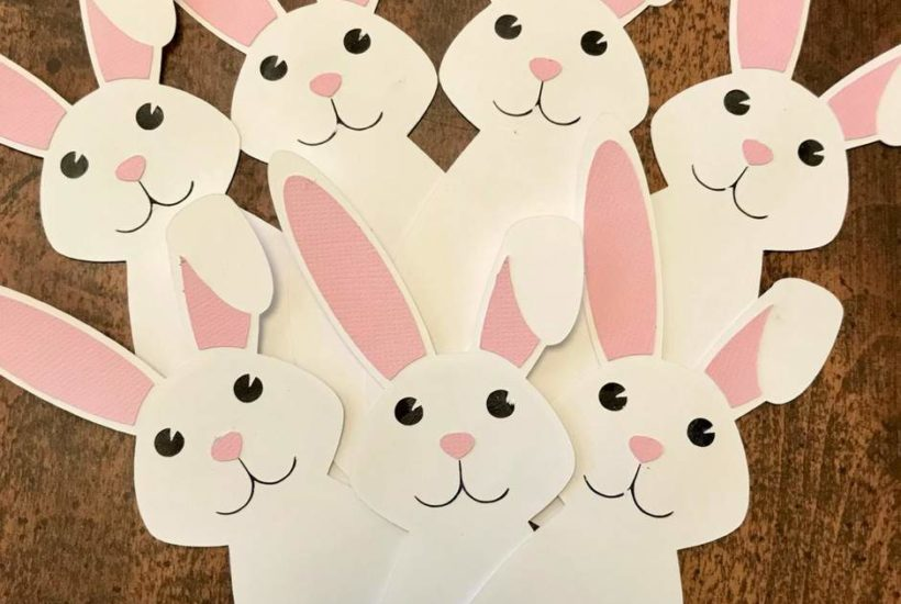 Quick & Easy Easter Bunny Craft (+ Free Coloring Pages)