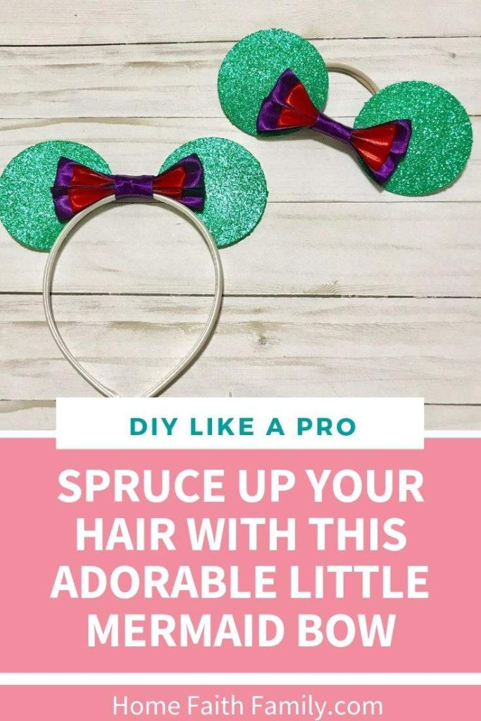 I love how easy this Disney ears headband is to make on my Cricut Maker! This is the perfect tutorial for beginners. #Disney #Cricut #CricutMaker #DIY