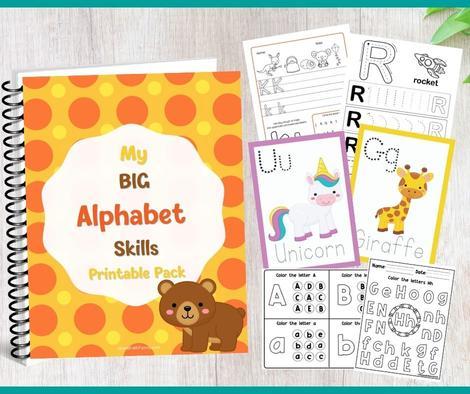 alphabet learning bundle.